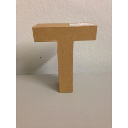 Lettera in Cartone Glorex - T