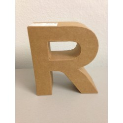 Lettera in Cartone Glorex - R
