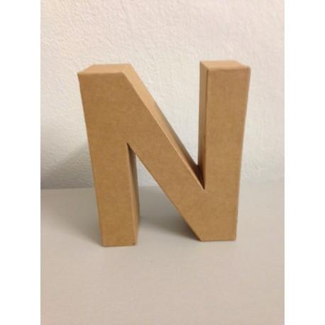 Lettera in Cartone Glorex - N