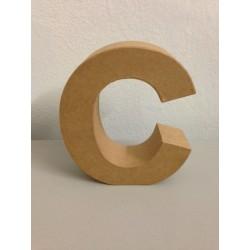 Lettera in Cartone Glorex - C