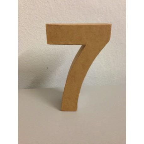 Numero in Cartone Glorex - 7