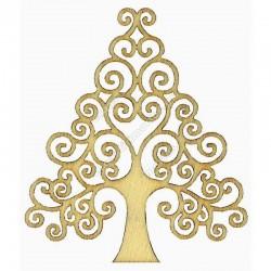 Abbellimenti in legno Artemio - Albero di Natale