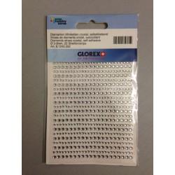 Strass Glorex Diamante 2-3mm Strisce
