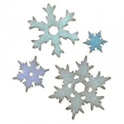 Fustella Sizzix Bigz L T. Holtz  - Stacked Snowflakes
