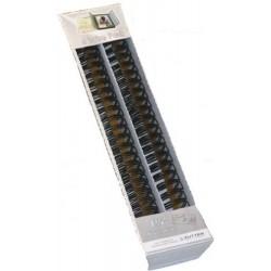 Zutter- 4 Spirali metalliche Black Wires 1 1/4inch