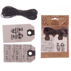 Kit Tags Puckator - Bits & Bobbins - Love & Dreams