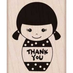 Timbro legno Hero Arts - Thank You Girl