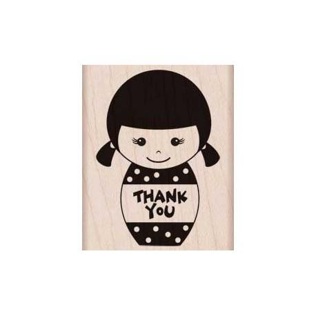 Timbro legno Hero Arts - Thank You Girl