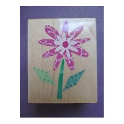 Timbro legno Hero Arts - Fabric Daisy