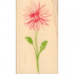 Timbro legno Hero Arts - watercolor dahlia