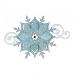 Fustella Sizzix Bigz B.Walton -  Snowflake Ornament