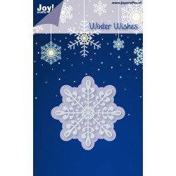 Fustella Joy Craft - Ice Crystal no.3
