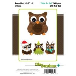 Fustella Die versions - Build an Owl