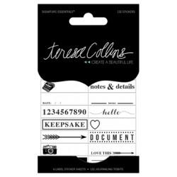 Stickers Teresa Collins - Journaling Tidbits