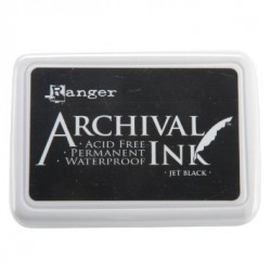 Tampone Ranger Archival Ink - Jet Black