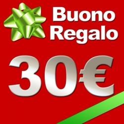 Buono regalo valore 30€