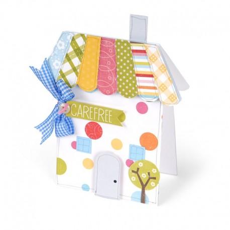 Fustella Sizzix Bigz XL - Card, House