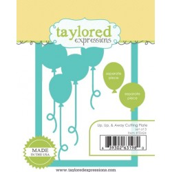 Fustelle Taylored Expressions - Up, Up & Away Cutting Plate