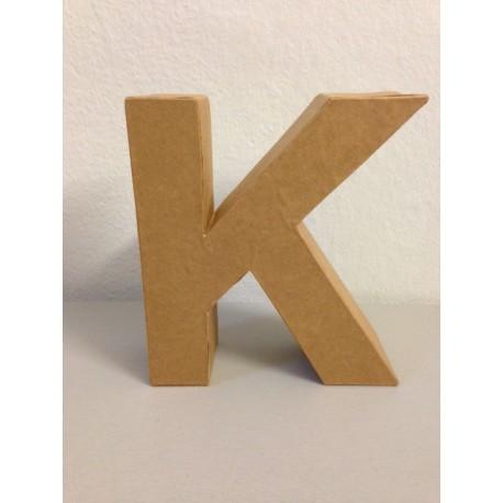 Lettera in Cartone Glorex - K