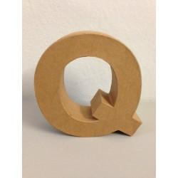 Lettera in Cartone Glorex - Q