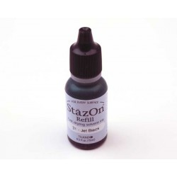 Stazon refill - Jet black