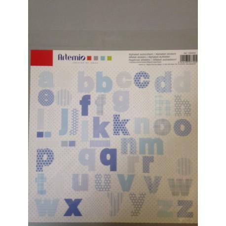 Stickers Artemio - Alfabeto Blu