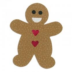 Fustella Sizzix Bigz L - Gingerbread Man