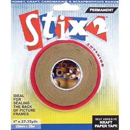 Self adhesive kraft paper tape 50mm - Stix2