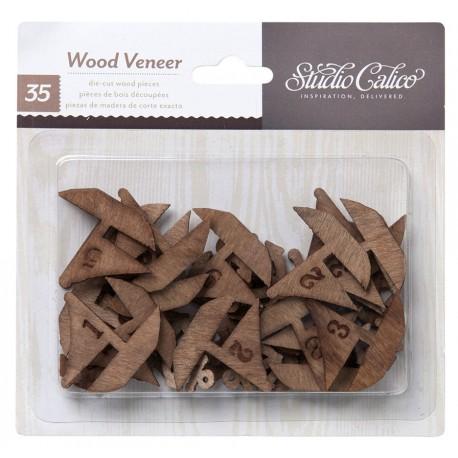 Abbellimenti in legno Studio Calico - Barche Numerate
