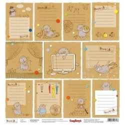 Carta ScrapBerry's - Basik & Ko - Cards 1