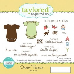 Timbri Cling Taylored Expressions - Onesie Twosie