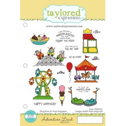 Timbri Cling Taylored Expressions - Adventure Land