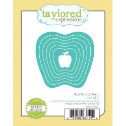 Fustella Taylored Expressions - Apple Stacklets
