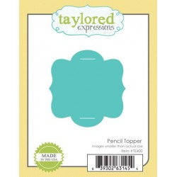 Fustella Taylored Expressions - Pencil Topper