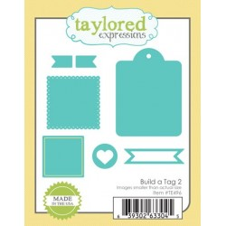 Fustella Taylored Expressions - Build a Tag 2