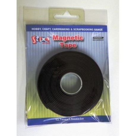 Nastro adesivo magnetico Stix2 - 12.7mm x 1.5mm x 3m