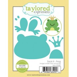 Fustelle Taylored Expressions - Sack It - Frog