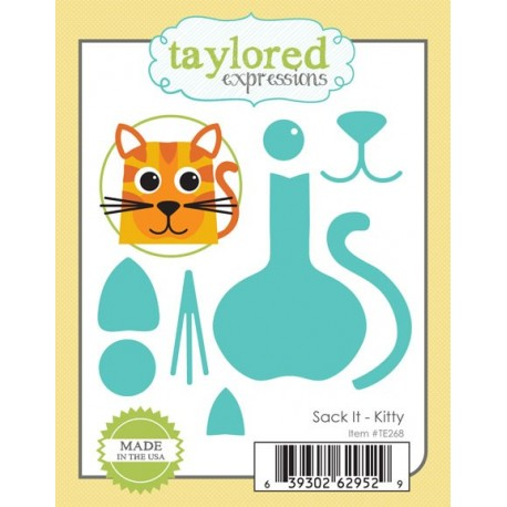 Fustelle Taylored Expressions - Sack It - kitty