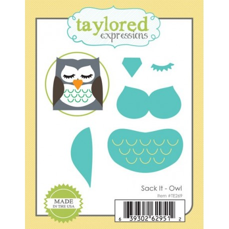 Fustelle Taylored Expressions - Sack It - Owl