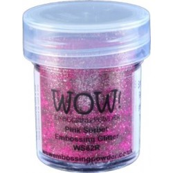 Wow! - Glitter Pink Sorbet