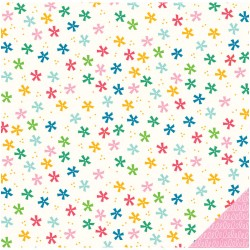 Carta American Craft Pebbles - Birthday Wishes - Confetti