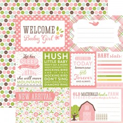 Carta Echo Park - Bundle of Joy - Welcome Baby Girl