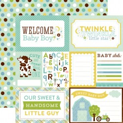 Carta Echo Park - Bundle of Joy - Welcome baby Boy