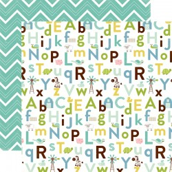 Carta Echo Park - Bundle of Joy - Baby Boy alphabet