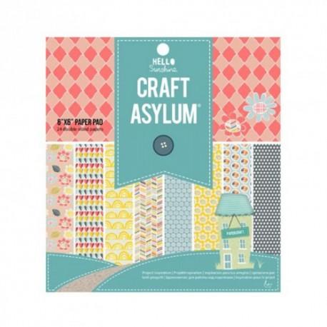 Craft Asylum 6x6 pad - Hello Sunshine