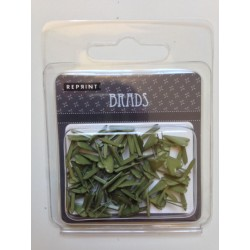 Brads ferma campione Reprint - Cuore Verde 10mm