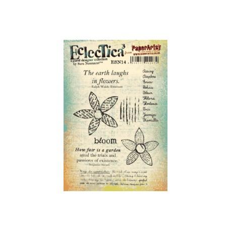 Timbro Cling Paper Artsy Eclectica - E Sara Naumann 14