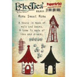 Timbro Cling Paper Artsy Eclectica - Lin Brown 19