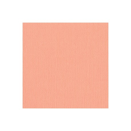 Cartoncino bazzill mono - Coral Cream