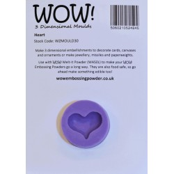 Wow! - Stampo in silicone - Heart